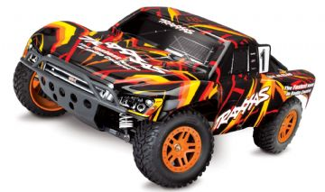 Traxxas 68054-1OR Slash 4x4 Brushed RTR - Orange